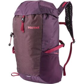 Marmot Kompressor Sac à dos 18l, dark purple/brick